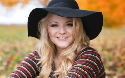 Fall Senior Photo Session with Ailey